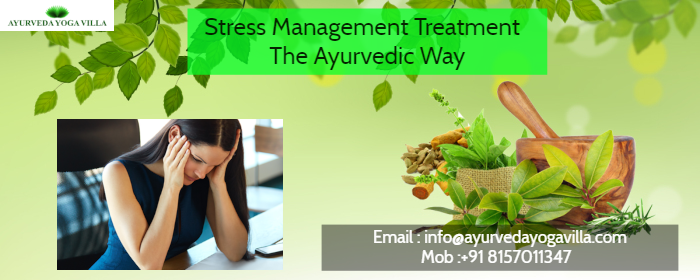 stress management in ayurveda